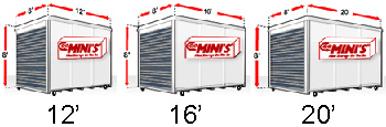 Mikes Go Minis Portable Storage Moving Containers Portable